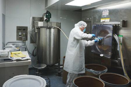 Avema's solid dose manufacturing in Miami.
